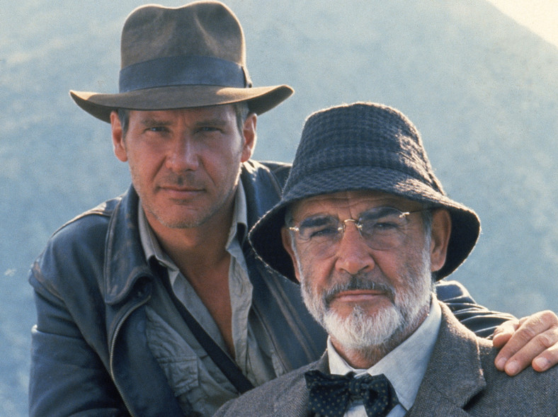 Harrison Ford i Sean Connery