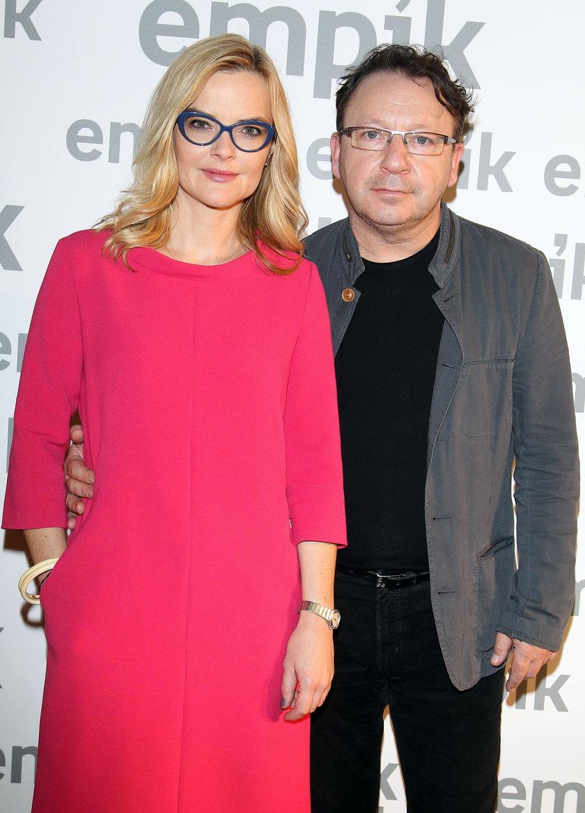 Monika Zamachowska z mężem Zbigniewem