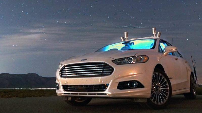 Ford inwestuje 1 mld dolarów w autonomiczne auta