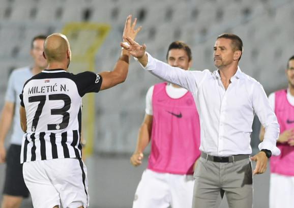 Zoran Mirković i Nikola Miletić