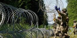 Strażak zginął na granicy z Białorusią. Podczas montażu drutu kolczastego