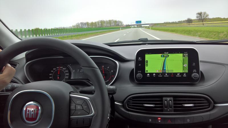 Fiat Uconnect Nav z ekranem 7 cali