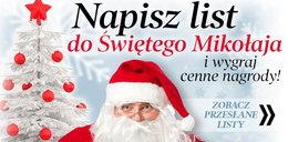 Mikołaj czeka na wasze listy