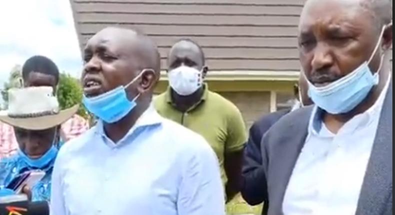 MPs Oscar Sudi and Kimani Ngunjiri