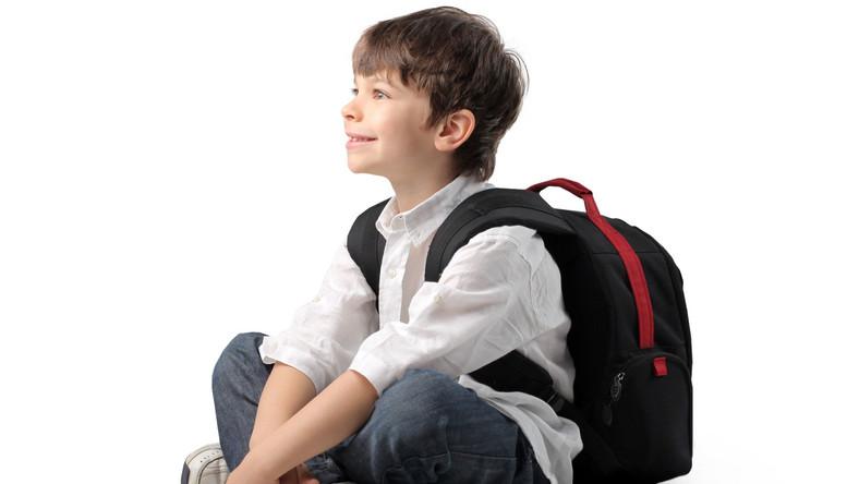 uczeń tonister plecak szkoła
