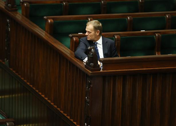 Donald Tusk. Fot. PAP/Tomasz Gzell