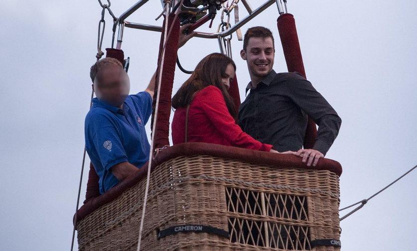 Mateusz oświadczył się Klaudii w balonie kilkanaście metrów nad ziemią