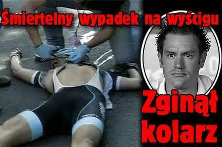 Śmiertelny wypadek na wyścigu. Zginął kolarz!