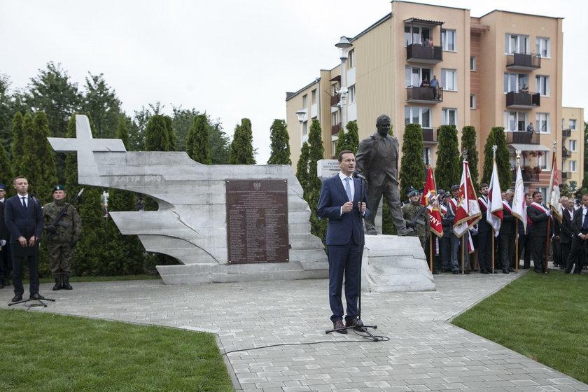 Pomnik Lecha Kaczyńskiego w Kraśniku