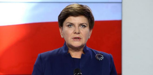 Kandydatka na premiera Beata Szydło