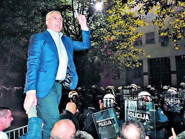 Andrija Mandić frontmen je Demokratskog fronta