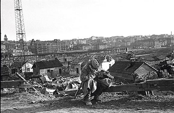 Beograd u danima neposredno posle oslobođenja oktobar, 1944.