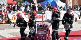 Dzieci z Wieruszowa pokazały jak gasić pożary