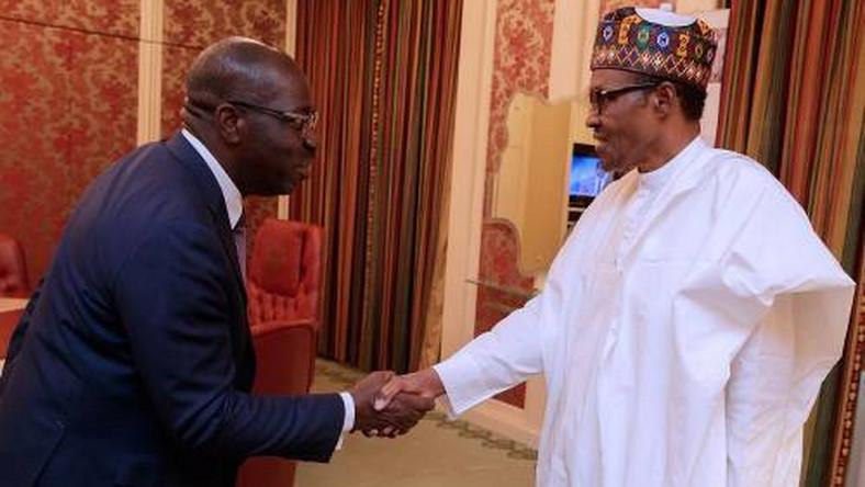 Illustrative Photo : President Muhammadu Buhari has congratulated Governor Godwin Obaseki on his re-election. (Sahara Reporters)