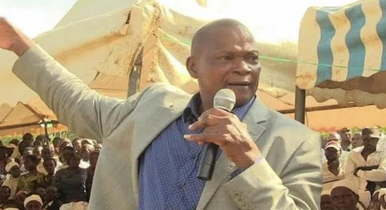 The late Kabuchai MP James Lusweti Mukwe