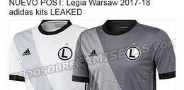 Wyciekły nowe koszulki Legii? Burza w sieci!