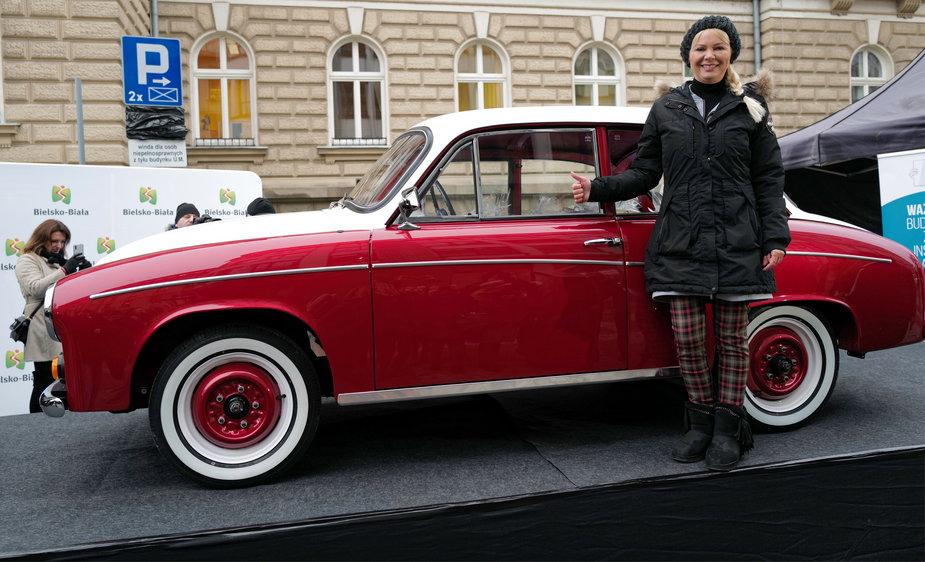 Monika Jaskolska z Syreną 105 Toma Hanksa