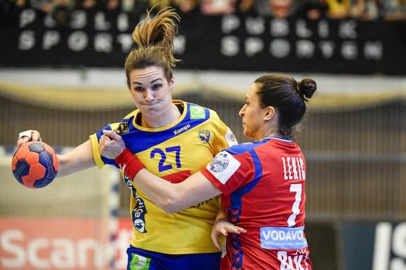 Andrea Lekić će i na Evropskom prvenstvu voditi borbe sa Šveđankama