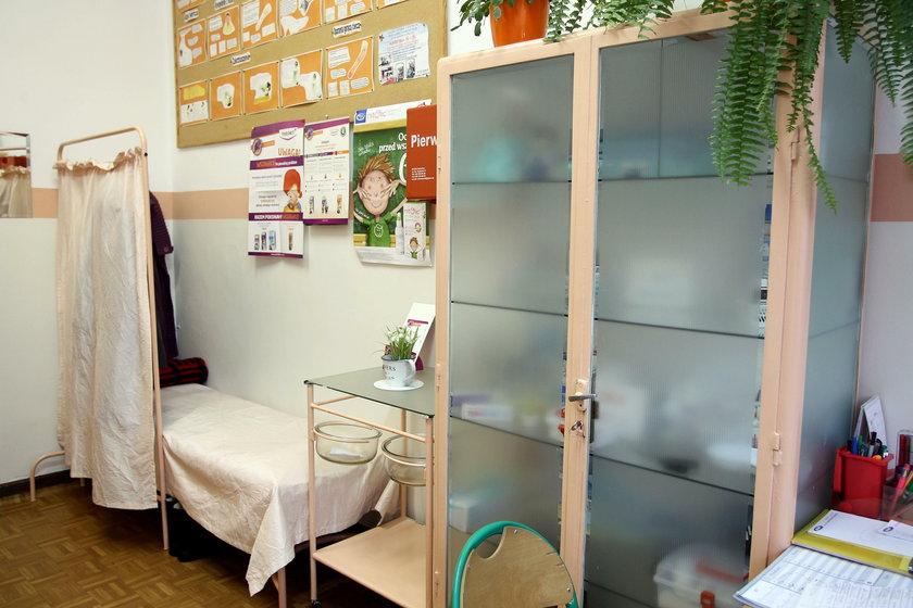 Chorzów.  Rząd przekazuje dotacje na wyposażenie gabientów szkolnych higienistek