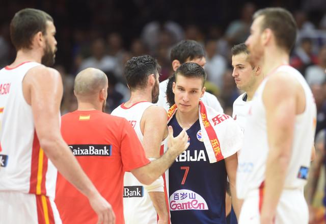 Srbija - Španija, košarkaška reprezentacija Srbije
