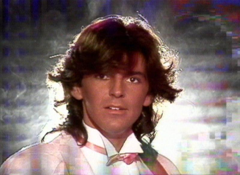 "Thomas Anders w teledysku do ""You're My Heart, You're My Soul"""