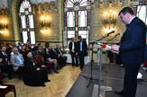 Budimpesta41 Tekilijanum obelezavanje sto sedamdeset godina od osnivanje galerije Matica Srpske Tijana Pavkovljevic i Igor Mirovic foto Nenad Mihajlovic