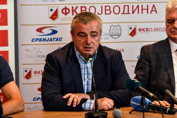 Generalni direktor FK Vojvodina Dušan Bajatović