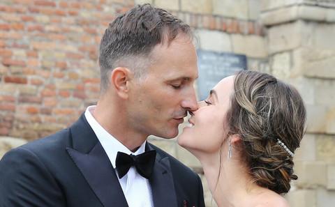 Oženio se srpski teniser, a iznenadićete se kada vidite venčanicu njegove supruge!