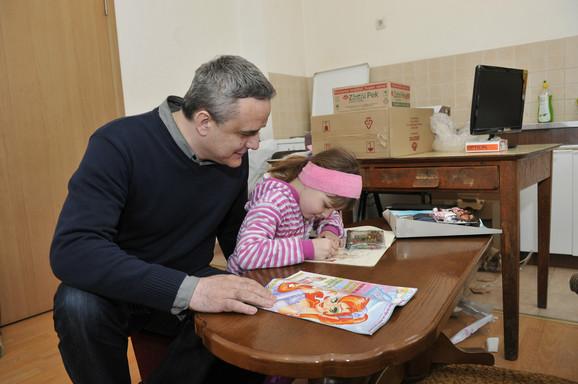 Anđela sa urednikom akcije Velimirom Perovićem