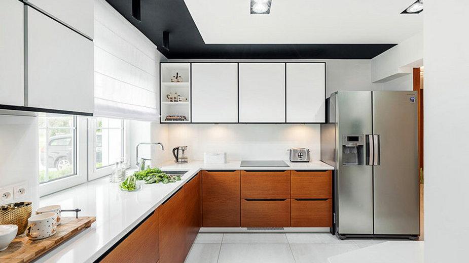 Dom w stylu modern z kroplą glamour