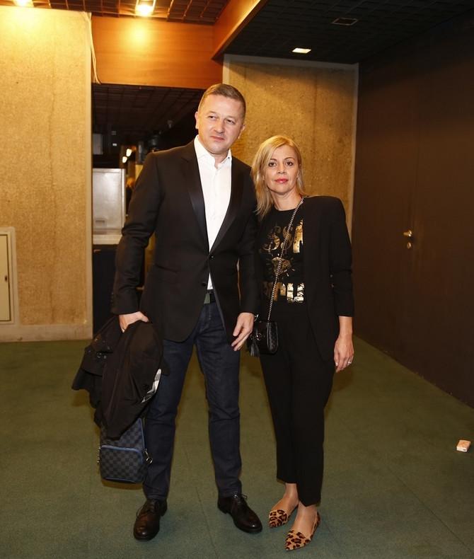 Srđan Predojević sa suprugom Mirjanom