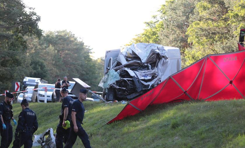 Śmiertelny wypadek pod Zielona Górą.