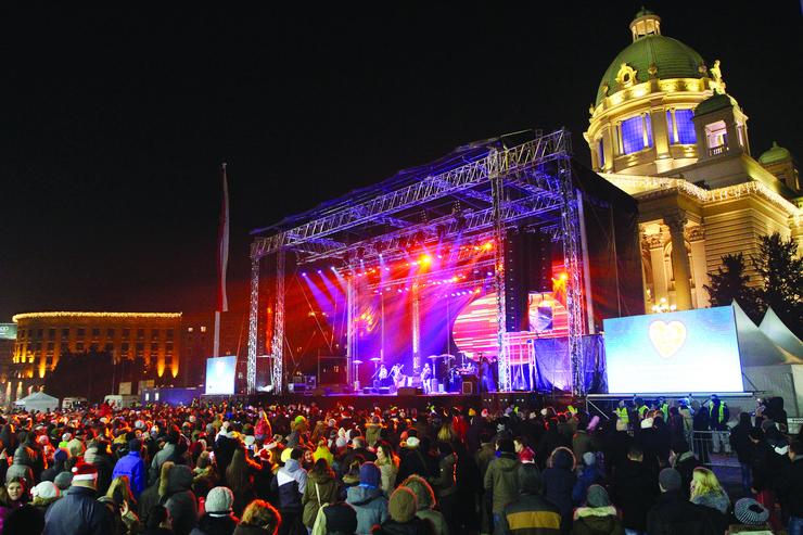 Doček Nove godine Beograd