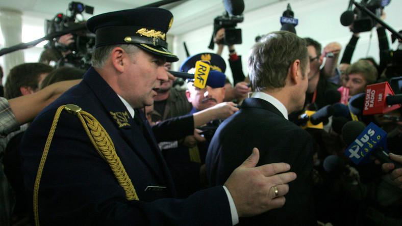Aby chronić Sejm, strażnicy przechodzą rygorystyczne badania sprawności fizycznej