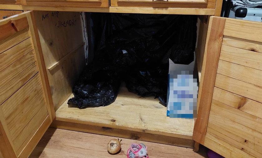 To nie była zwykła szafka...