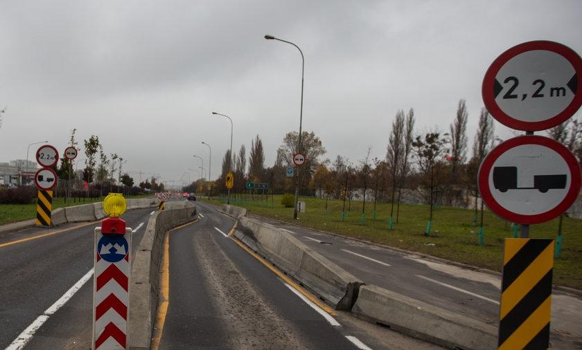 Remont trasy w Poznaniu