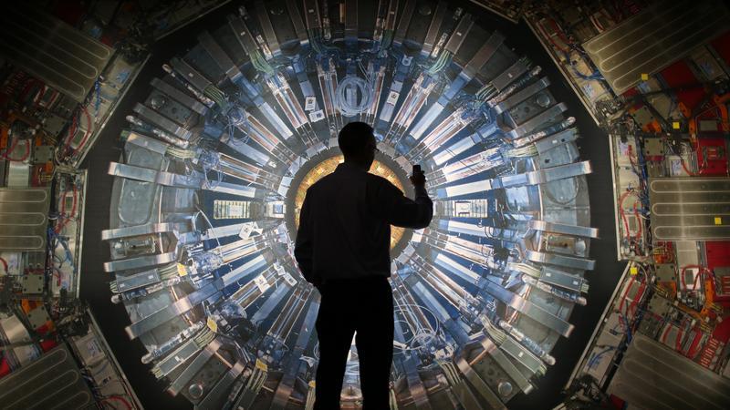 Wystawa w ośrodku CERN