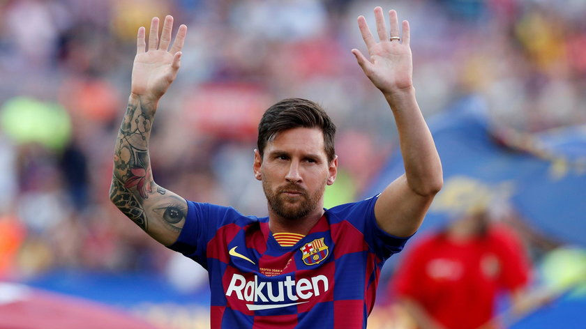 Lionel Messi najlepszym piłkarzem świata