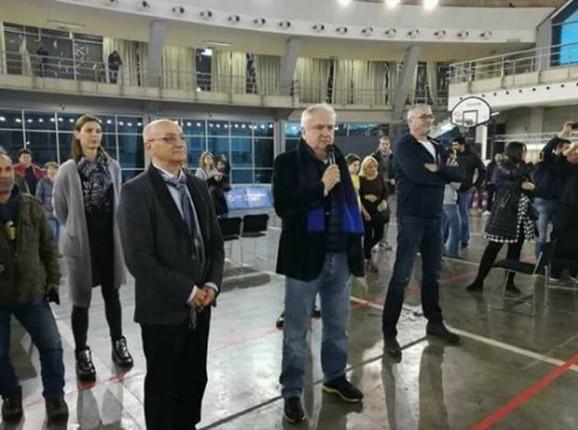 Race Georgievski sa Božidarom Maljkovićem i Predragom Danilovićem
