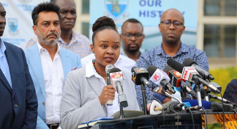 Heath CAS Dr Mercy Mwangangi