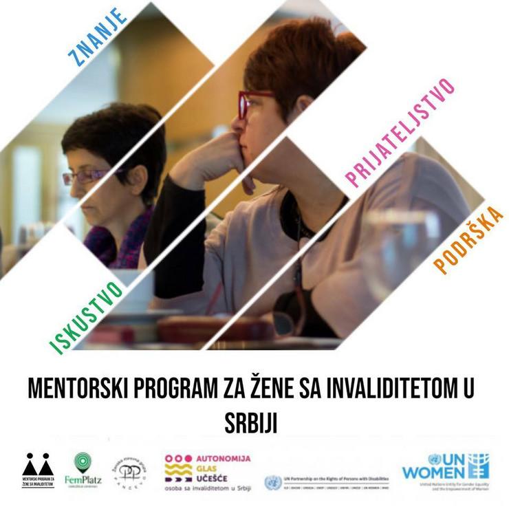 """""""Mentorski program za žene sa invaliditetom"""""""
