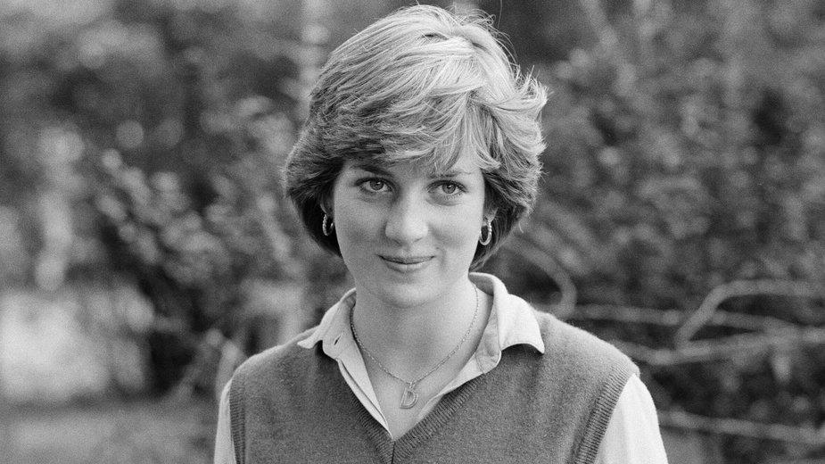 Diana Spencer w latach młodości