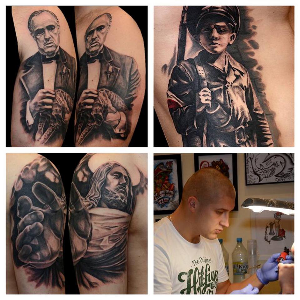 Lider Kibiców Legii Staruch Zajmuje Się Robieniem Tatuaży