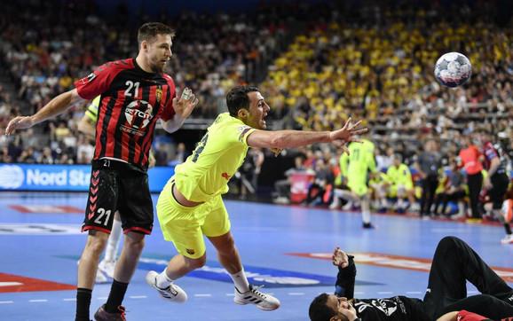 Detalj sa utakmice Vardar - Barselona