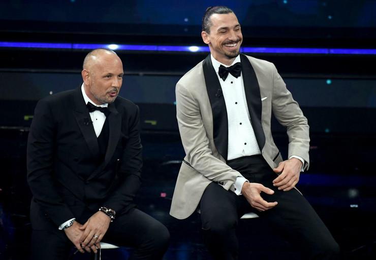 Siniša Mihajlović i Zlatan Ibrahimović