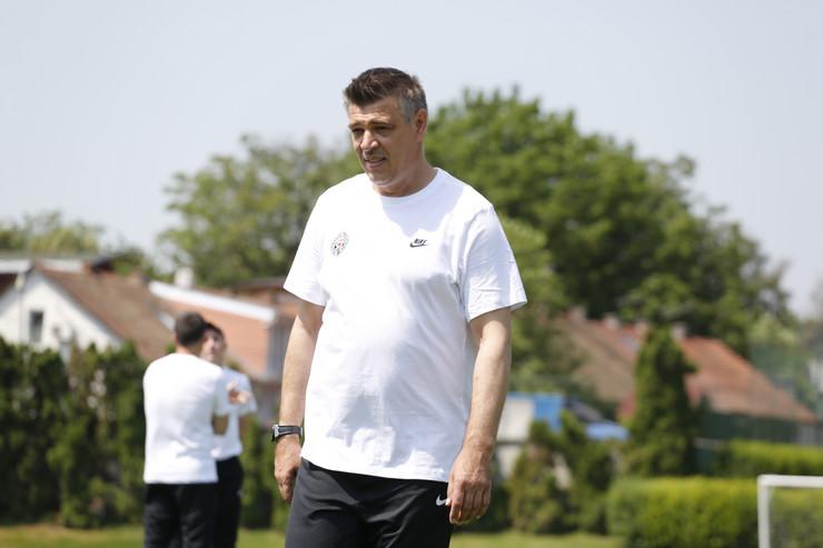 FK Partizan, pripreme, trening