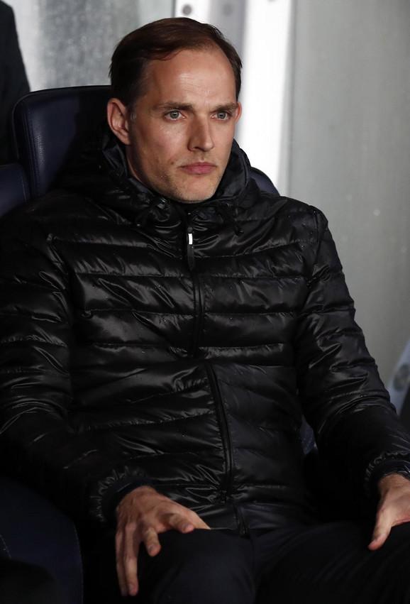 Trener PSŽ-a Tomas Tuhel