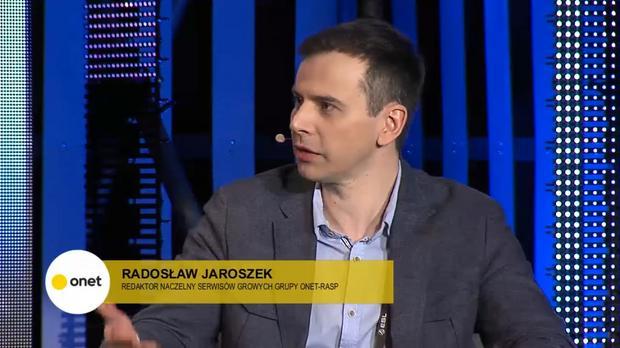 Radosław Jaroszek - redaktor naczelny serwisów Onet Gry i Gamezilla.pl