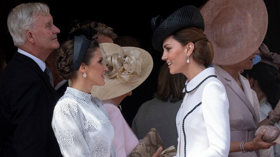 Królowa Letizia i Kate Middleton