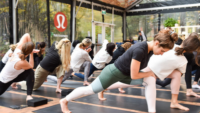 Lululemon is doing something that it almost never does as the pandemic squeezes its business
